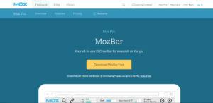 что такое MozBar