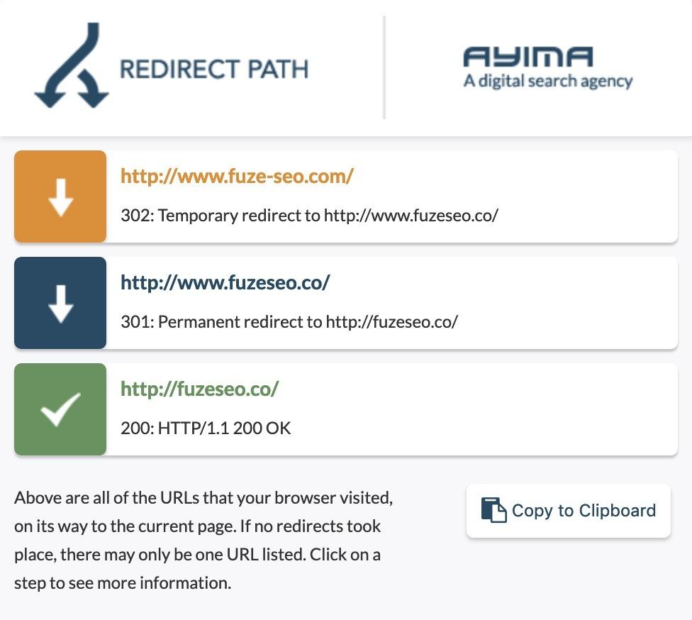 что такое Redirect Path